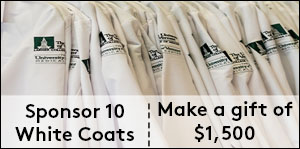 Sponsor ten white coats