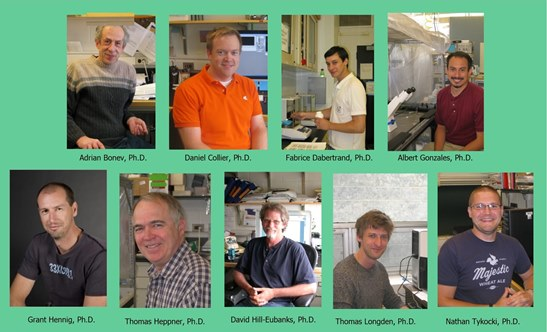 Research Faculty and Faculty Scientists - Nelson Lab - July 2017