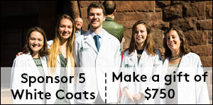 Sponsor five white coats