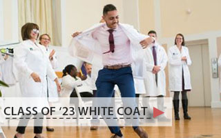 Class of 2023 white coat ceremony slideshow