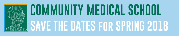 community_medical_school_banner for webpage save the dates for spring 2018