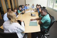 Students Attend a training