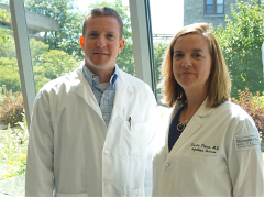 Sean Diehl, Ph.D., and Kristen Pierce, M.D.