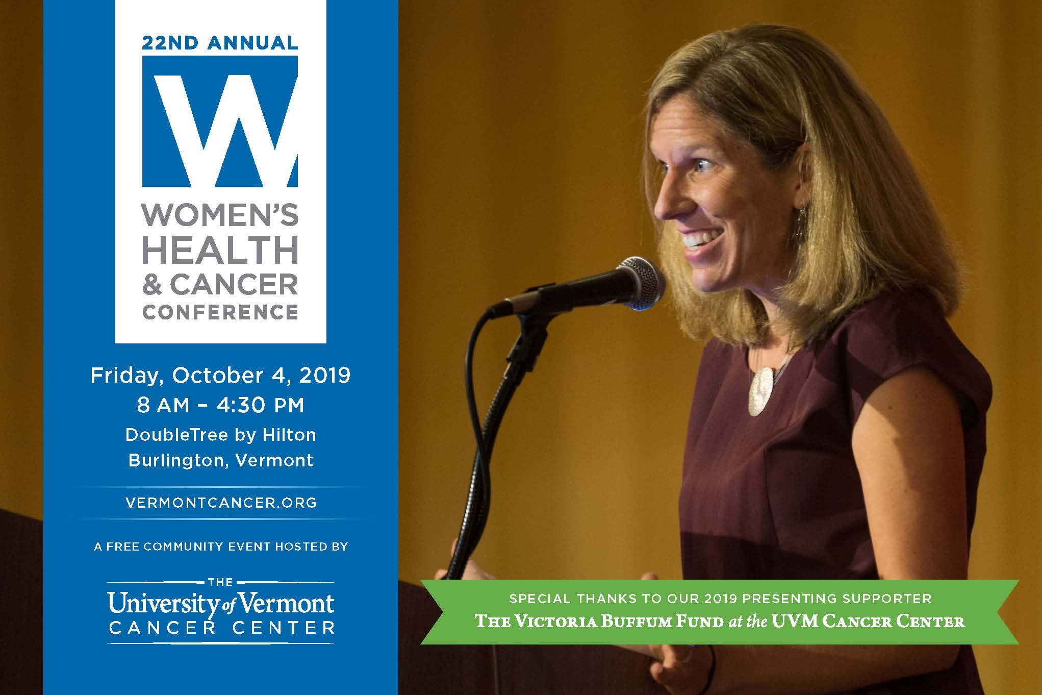 Women's Health & Cancer Conference Flyer