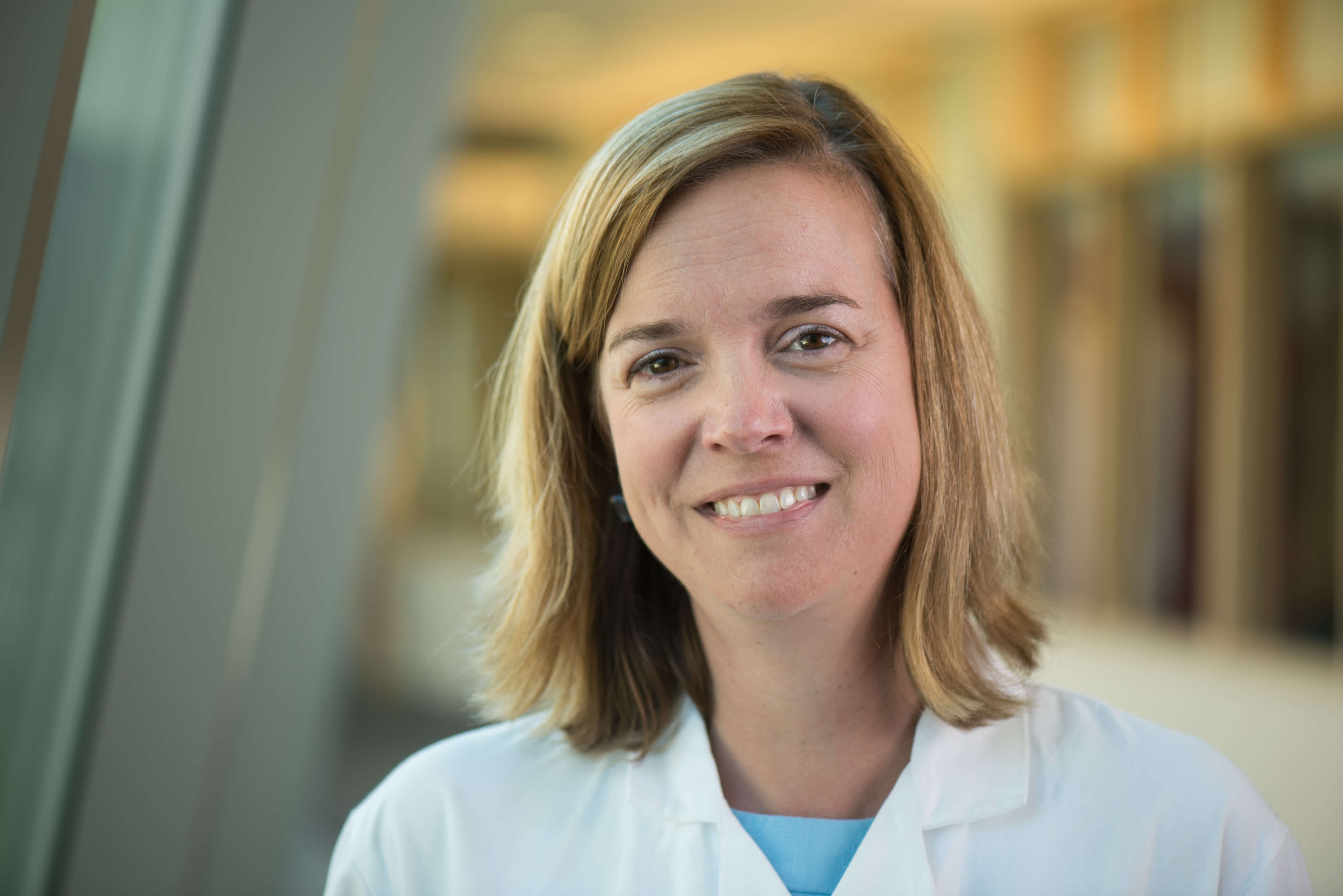 Kristen Pierce, MD, smiling headshot