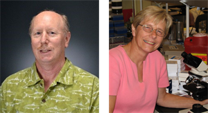 MMG Faculty Dr. Keith Mintz and Brenda Tessmann