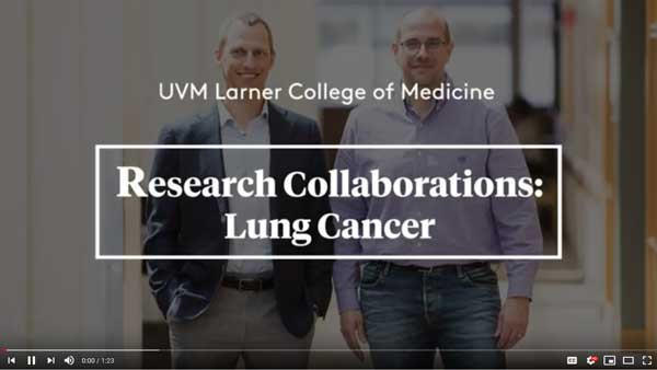 Video, Research Collaborations: Lung Cancer