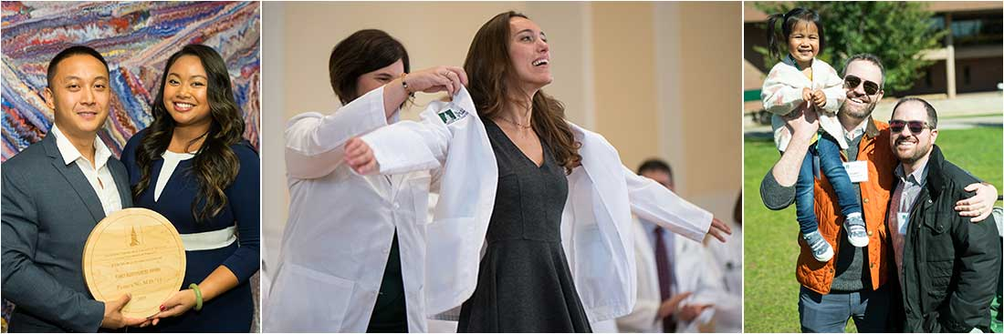 White Coat Ceremony and Reunion weekend