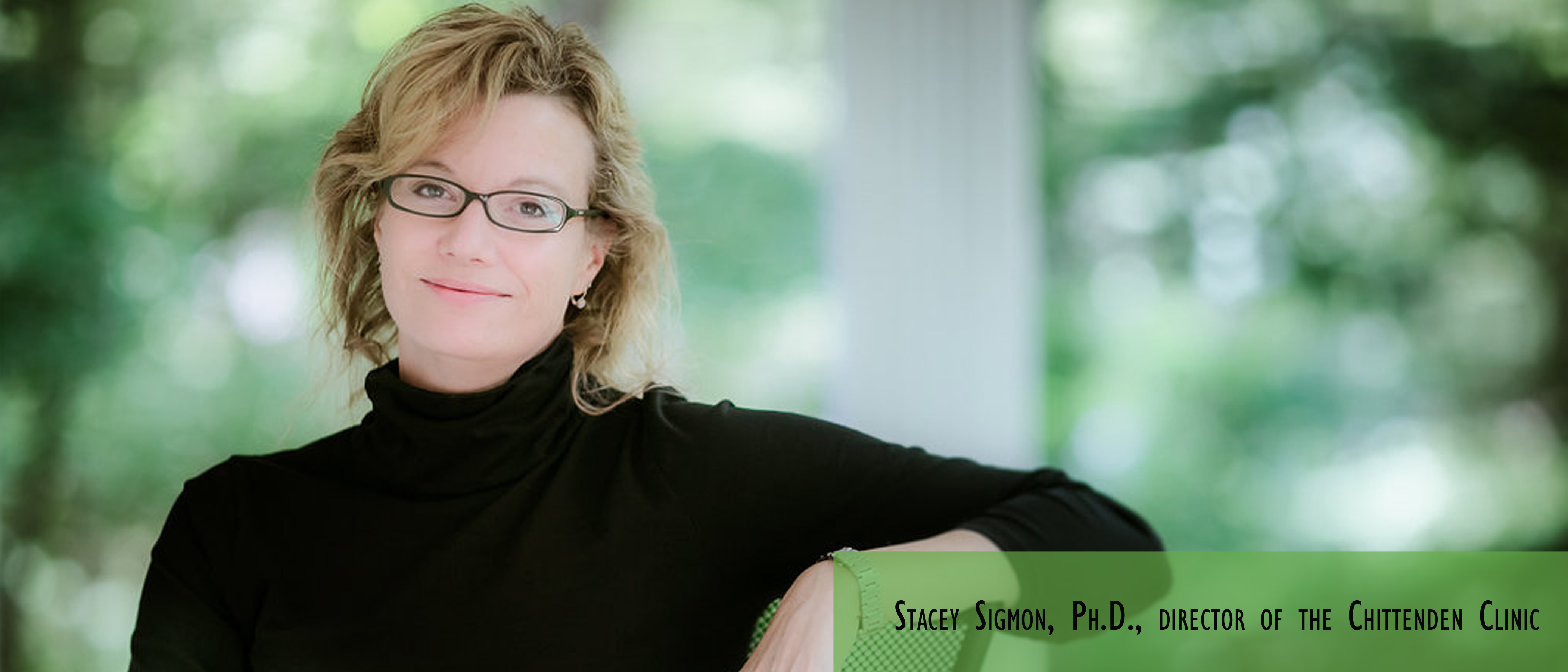 Stacey Sigmon, Ph.D.