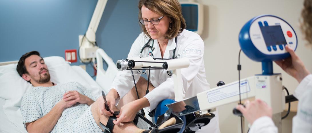 On Her Toes - Vermont Medicine Magazine | Larner College of