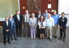 Totman Trustees with Dean Morin and faculty July 18 2017