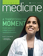 Vermont Medicine Cover Fall 2016 issue
