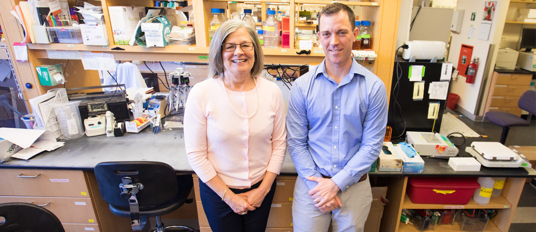 Marie Wood, M.D. and Jason Stumpff, Ph.D.