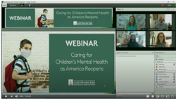 Caring for children's health webinar image