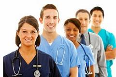 A group of health care professionals